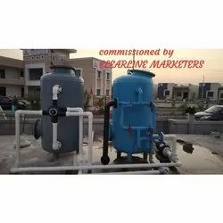 MS Fabricated Pressure Sand Filter