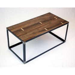 Black Industrial Coffee Table