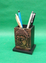 Gift City Wood Pen Holder