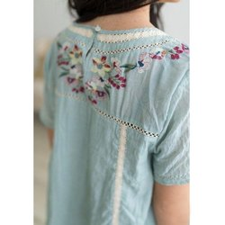 S-XXL Be You Ladies Embroidery Kurti