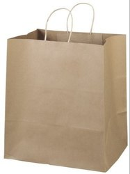 Brown Paper Craft Bag, For Packaging, Capacity: 5kg