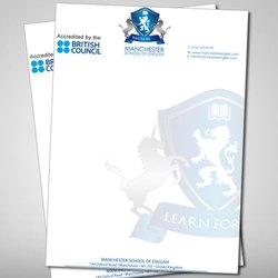 Offset Letter Head Printing Service, in Mumbai, Print Size: A/4