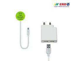 ERD TC 75 BC Micro Dual USB Charger