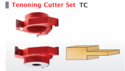 Tenoning Cutter Set