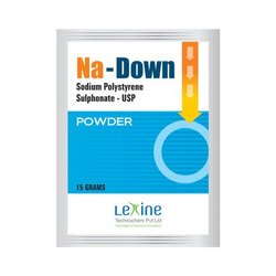Na-Down Sodium Polystyrene Sulphate USP