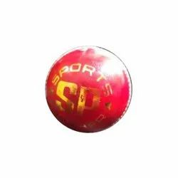 Premium League Red Leather Cricket Ball