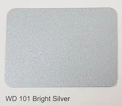 Wd-101 Bright Silver ACP Sheets