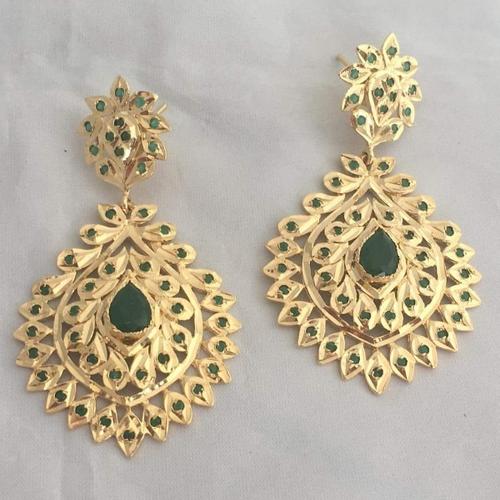 95d69c0d731 Golden Copper Metal Traditional Earring Set
