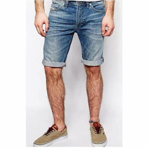 Mens Organic Denim Shorts At Rs 600 Piece Mens Denim Short Id