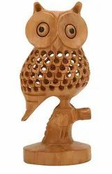 Wooden Handicraft Jali Owl
