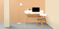 Godrej Wooden Study Chairs - Oasis Chair, For Home, Back Style: Cushion