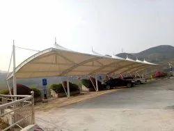 Car Park Tensile Membrane Structures