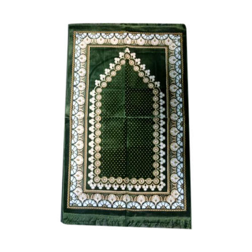 Multicolor Babloo Carpet Emporium Prayer Rug