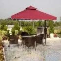 4 Seater Outdoor Table & 4 Chairs
