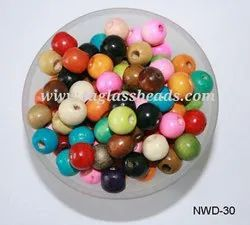 Colourful Wooden Beads