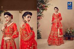 Hitansh Ardhangini Series 01-08 Stylish Party Wear Velvet Lehenga
