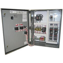 Mild Steel Three Phase Motor Control Panel