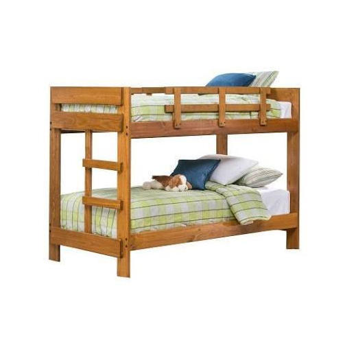 Teak Wood Bunk Bed Age 9 To 12 Years Rs 30000 Piece Kamal Furniture Id 18854557655