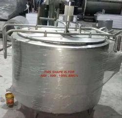 Circular Bulk Milk Cooler
