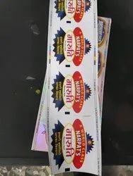 Chromo Paper Label