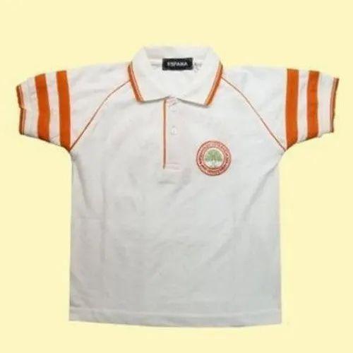 White School Uniform T Shirts