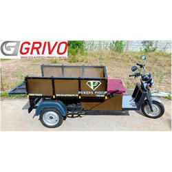 Battery Operator Electric Good Carrier Auto Rickshaw, 500kg, Seating Capacity: Driver