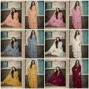 Bollywood Ethnic Ladies Kurti With Plazzo