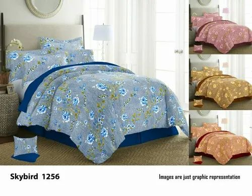 Cotton Double Bed Sheet Size 220 245, What Size Is A Double Bed Cover In Cm