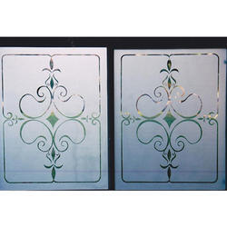 Glass Etching Work
