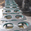 Spectacle Plate For Concrete Pump Spares