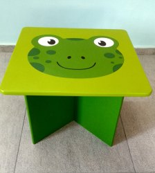 Wooden Frog Table