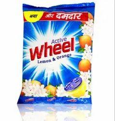 Lemon Wheel Detergent Powder, Packaging Type: Packet, Packaging Size: 500 Gm
