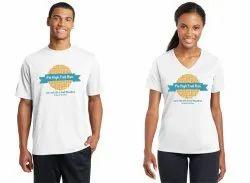 20 Colours Cotton Half Sleeve Event T Shirts