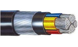 95-mm 3.5 Core Aluminum Armored Cable