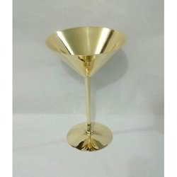 Martini Gold Goblet