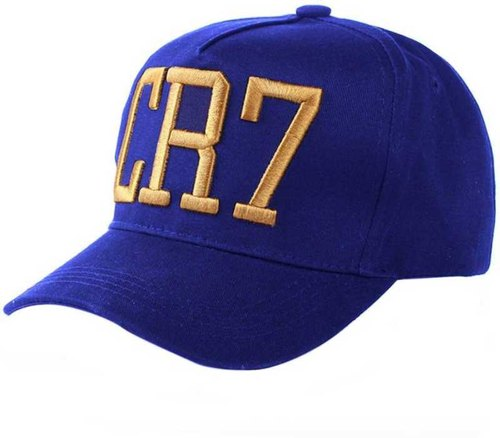 ab6c4d738 Cr7 Blue Cotton Baseball Cap