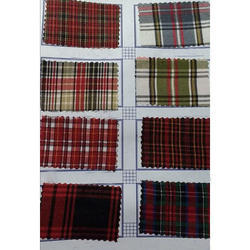 Garments Twill Check Fabric
