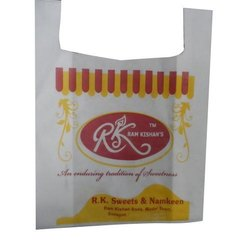 Printed Non Woven U Cut Sweets Carry Bags