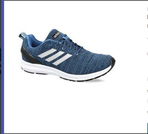 Bule Men Adidas Running Legus 1 Point 0