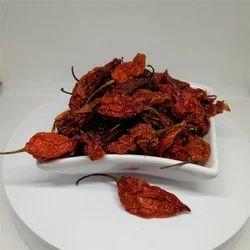 Dried Bhut Jolokia Pepper