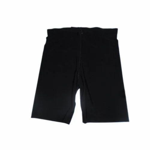 940fb173c5 Mens Black Plain Half Pant