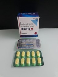 Fexofenadine 120, Montelukast 10 mg Tablets