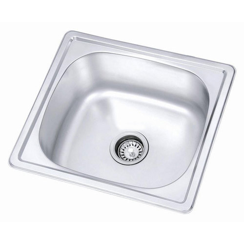 Sterling Stainless Steel Single Bowl Kitchen Sink  sc 1 st  IndiaMART & Steel Single Bowl Kitchen Sink