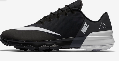 842361984bc80 Black anthracite white Nike FI Flex Golf Shoes