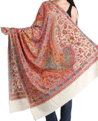 Authentic Embroidered Pashmina Shawl