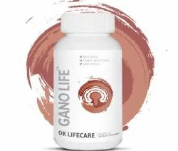 Malaysia Gano Life, Packaging Type: Bottle, Packaging Size: 60 cap