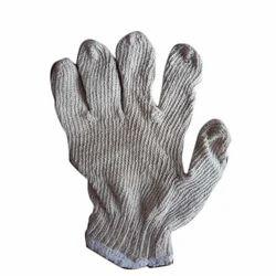 Full Finger White Cotton Gloves