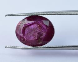 Natural Ruby- 6.75 ct