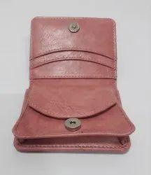 Plain Ladies Leather Wallets