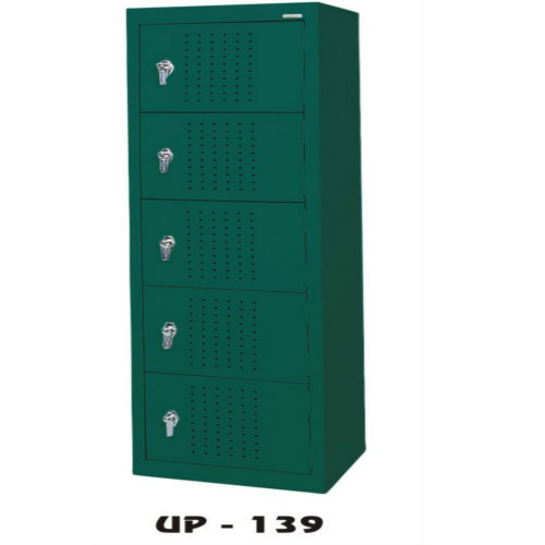 UP Furnitures Stainless Steel Green Cupboard